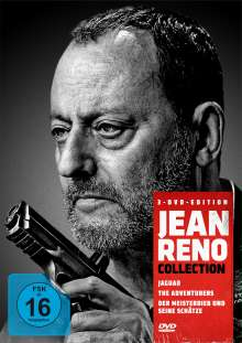 Jean-Reno-Collection, 3 DVDs