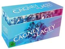 Cagney & Lacey (Komplette Serie), 34 DVDs