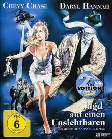 Jagd auf einen Unsichtbaren (Blu-ray & DVD im Mediabook), 1 Blu-ray Disc und 1 DVD