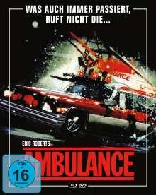 Ambulance (Blu-ray & DVD im Mediabook), 1 Blu-ray Disc und 2 DVDs