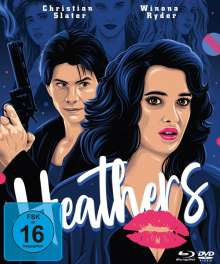 Heathers (Blu-ray & DVD im Mediabook), 2 Blu-ray Discs und 1 DVD