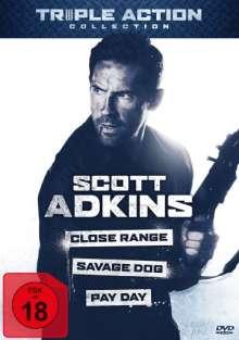 Scott Adkins Triple Action Collection, 3 DVDs