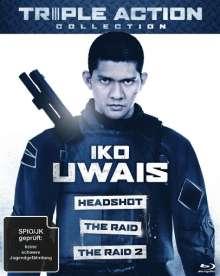 Iko Uwais Triple Action Collection (Blu-ray), 3 Blu-ray Discs