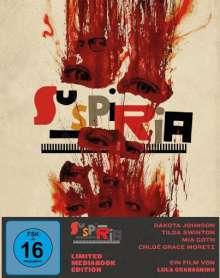 Suspiria (2018) (Blu-ray & DVD im Mediabook), 1 Blu-ray Disc und 2 DVDs