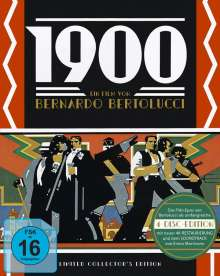 1900 (Limited Collector's Edition) (Blu-ray & CD in Sammlerbox), 4 Blu-ray Discs