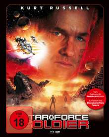 Star Force Soldier (Blu-ray & DVD im Mediabook), 1 Blu-ray Disc und 1 DVD