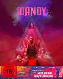 Mandy (Blu-ray & DVD im Mediabook), 1 Blu-ray Disc und 2 DVDs