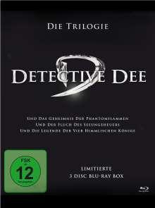 Detective Dee - Die Trilogie (Blu-ray), 3 Blu-ray Discs