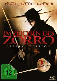 Im Zeichen des Zorro (Special Edition) (Blu-ray), 2 Blu-ray Discs