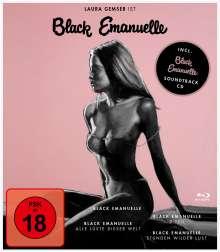 Black Emanuelle 1-4 (Blu-ray), 4 Blu-ray Discs und 1 CD