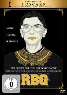 RBG - Ein Leben für die Gerechtigkeit, DVD