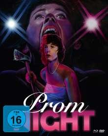 Prom Night (1980) (Blu-ray & DVD im Mediabook), 1 Blu-ray Disc und 2 DVDs
