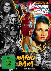 Vampire gegen Herakles (Blu-ray & DVD), 1 Blu-ray Disc und 2 DVDs