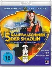 Die 5 Kampfmaschinen der Shaolin (Blu-ray), Blu-ray Disc