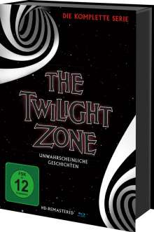 The Twilight Zone (Komplette Serie) (Blu-ray), 30 Blu-ray Discs