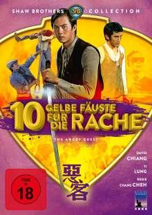 Zehn gelbe Fäuste für die Rache, DVD