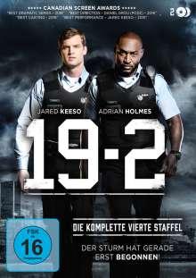 19-2 Staffel 4 (finale Staffel), 2 DVDs