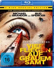 Vier Fliegen auf grauem Samt (Blu-ray & DVD), 1 Blu-ray Disc und 1 DVD
