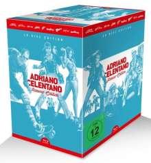 Adriano Celentano Azzurro-Edition (Blu-ray), 9 Blu-ray Discs und 1 CD