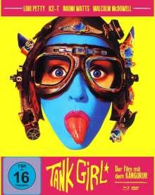 Tank Girl (Blu-ray & DVD im Mediabook), 1 Blu-ray Disc und 1 DVD