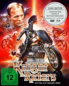 Knightriders (Blu-ray & DVD im Mediabook), 2 Blu-ray Discs und 1 DVD