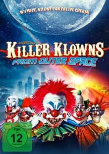 Killer Klowns - From outer Space (Blu-ray & DVD im Mediabook), 1 Blu-ray Disc und 2 DVDs