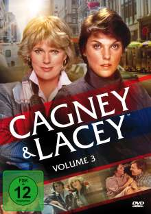 Cagney & Lacey Vol. 3 (Staffel 4), 6 DVDs