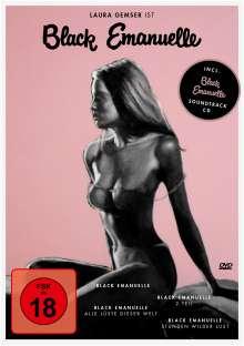 Black Emanuelle 1-4, 4 DVDs und 1 CD