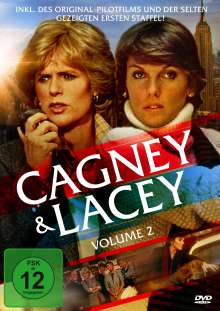 Cagney & Lacey Vol. 2 (Staffel 3), 5 DVDs