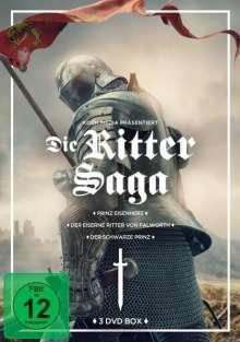 Die Ritter-Saga (Prinz Eisenherz / Der schwarze Prinz / Der eiserne Ritter von Falworth), 3 DVDs