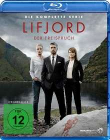 Lifjord - Der Freispruch (Komplette Serie) (Blu-ray), 4 Blu-ray Discs