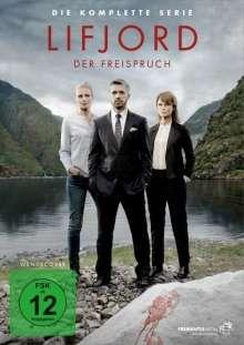 Lifjord - Der Freispruch (Komplette Serie), 5 DVDs