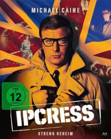 Ipcress - Streng geheim (Blu-ray & DVD im Mediabook), 2 Blu-ray Discs und 1 DVD