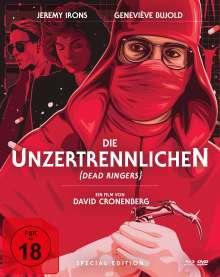 Die Unzertrennlichen (Blu-ray & DVD im Mediabook), 1 Blu-ray Disc und 2 DVDs