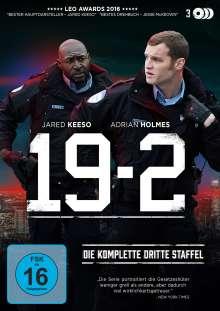 19-2 Staffel 3, 3 DVDs