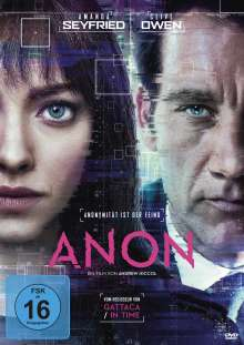 Anon, DVD