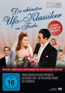 Die schönsten UFA-Klassiker in Farbe, 4 DVDs