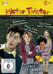 Mister Twister (Komplettbox), 3 DVDs