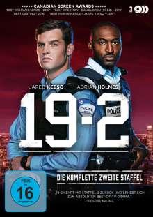 19-2 Staffel 2, 3 DVDs