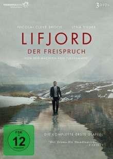 Lifjord - Der Freispruch Staffel 1, 3 DVDs