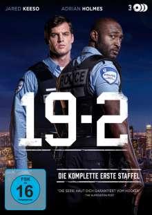 19-2 Staffel 1, 3 DVDs