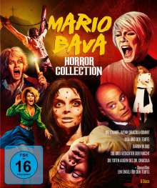 Mario Bava Horror Collection (Blu-ray), 5 Blu-ray Discs und 1 DVD