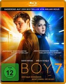Boy 7 (Blu-ray), Blu-ray Disc