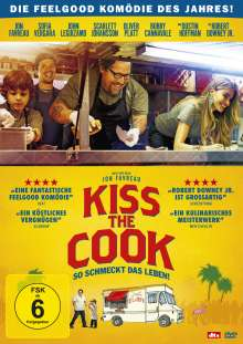Kiss The Cook, DVD