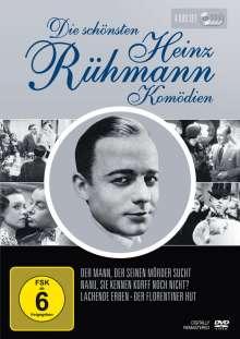 Die schönsten Heinz Rühmann Komödien (Filmbox), 4 DVDs