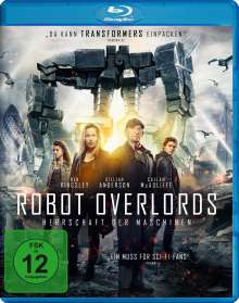 Robot Overlords (Blu-ray), Blu-ray Disc