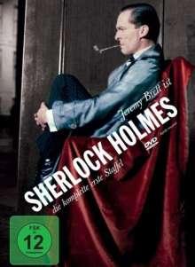 Sherlock Holmes Season 1, 4 DVDs