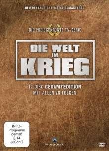 Die Welt im Krieg Teil 1-3 (Gesamtausgabe), 12 DVDs