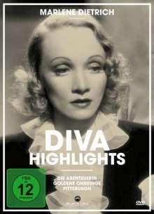 Marlene Dietrich Diva Highlights Vol.2, 3 DVDs