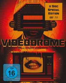Videodrome (Special Edition) (Blu-ray & DVD), 1 Blu-ray Disc und 2 DVDs